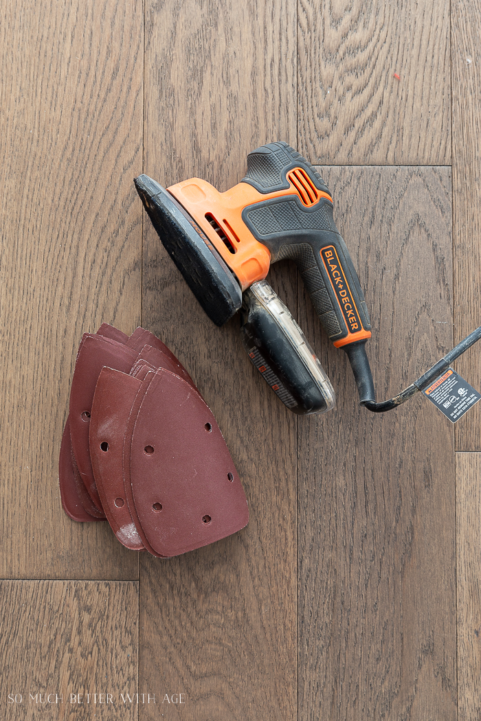 16 Essential Tools for Do-It-Yourself (DIY) Projects/black & decker mouse sander.