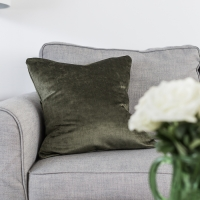 Change Your Decorative Pillow Covers Seasonally + Pillow Cover Tutorial
