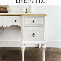 How to Paint Furniture for a Professional Look + Video