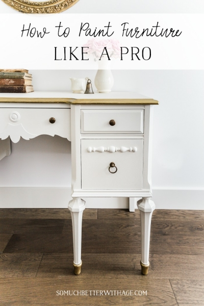 How to Paint Furniture for a Professional Look