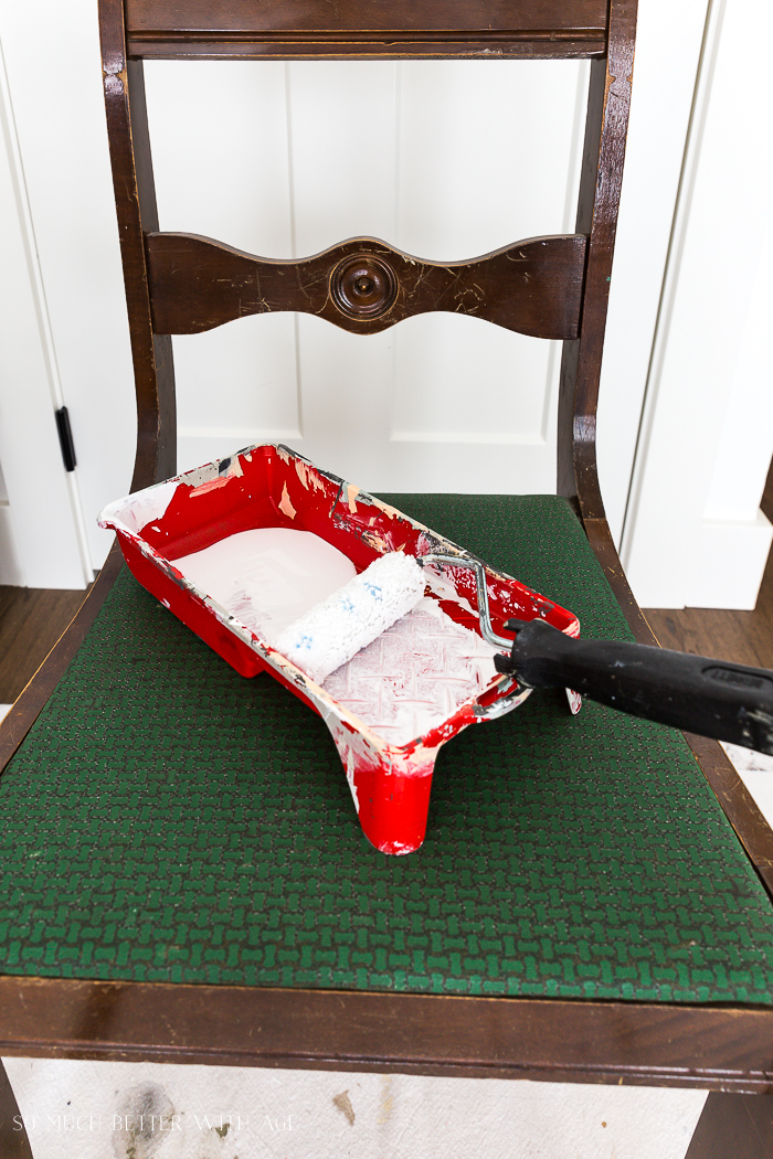 How to Paint Furniture for a Professional Look /prepare paint roller - So Much Better With Age