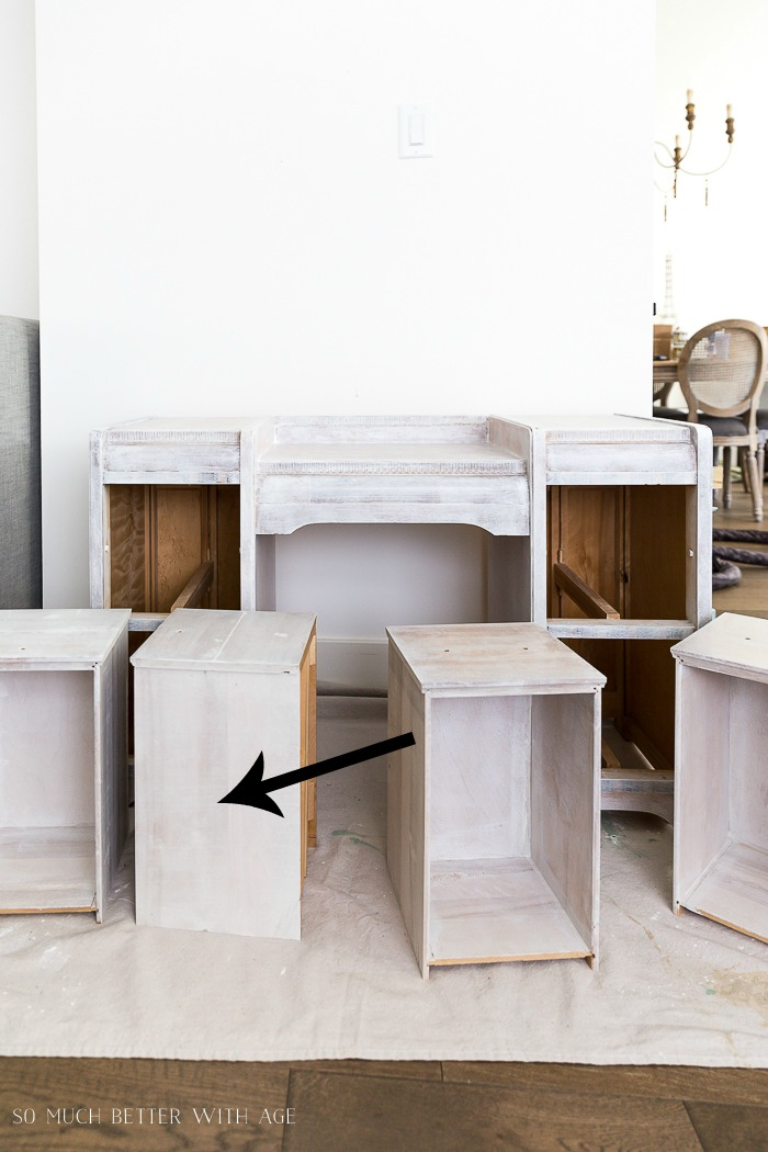 How to Paint Furniture for a Professional Look/how to paint drawers - So Much Better With Age