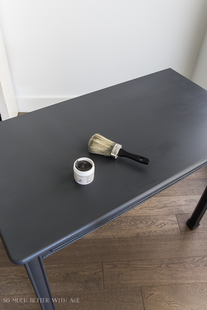 How to Use Dark Wax on Furniture /applying dark wax on furniture - So Much Better With Age