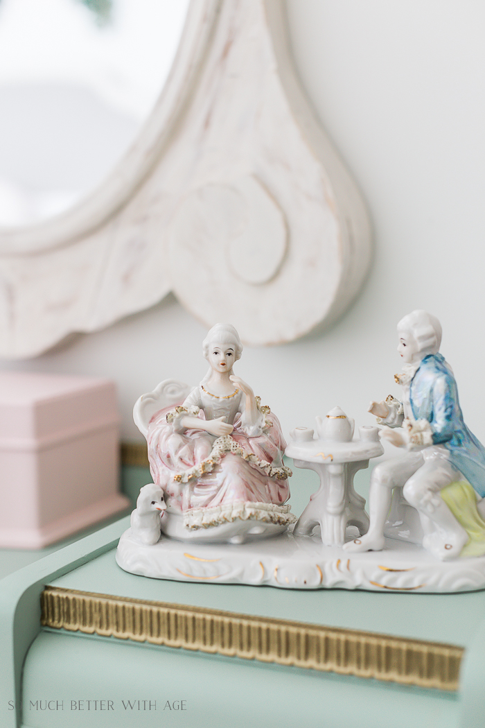 Sweet Details of My Little Girl's French Bedroom/porcelain figurine - So Much Better With Age