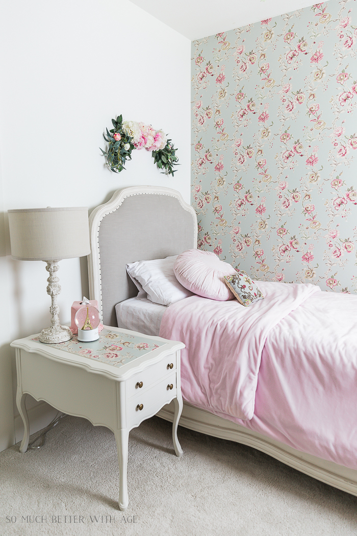 Sweet Details of My Little Girl's French Bedroom - So Much Better With Age