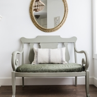 Settee Makeover – How to Upholster a Bench Seat