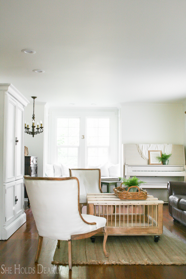 Simply White by Benjamin Moore - Best White Paint Color - She Holds Dearly