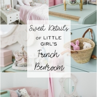The Sweet Details of My Little Girl's French Bedroom