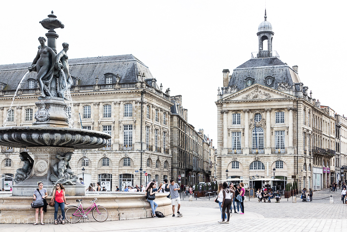 Centre square in Bordeaux - So Much Better With Age