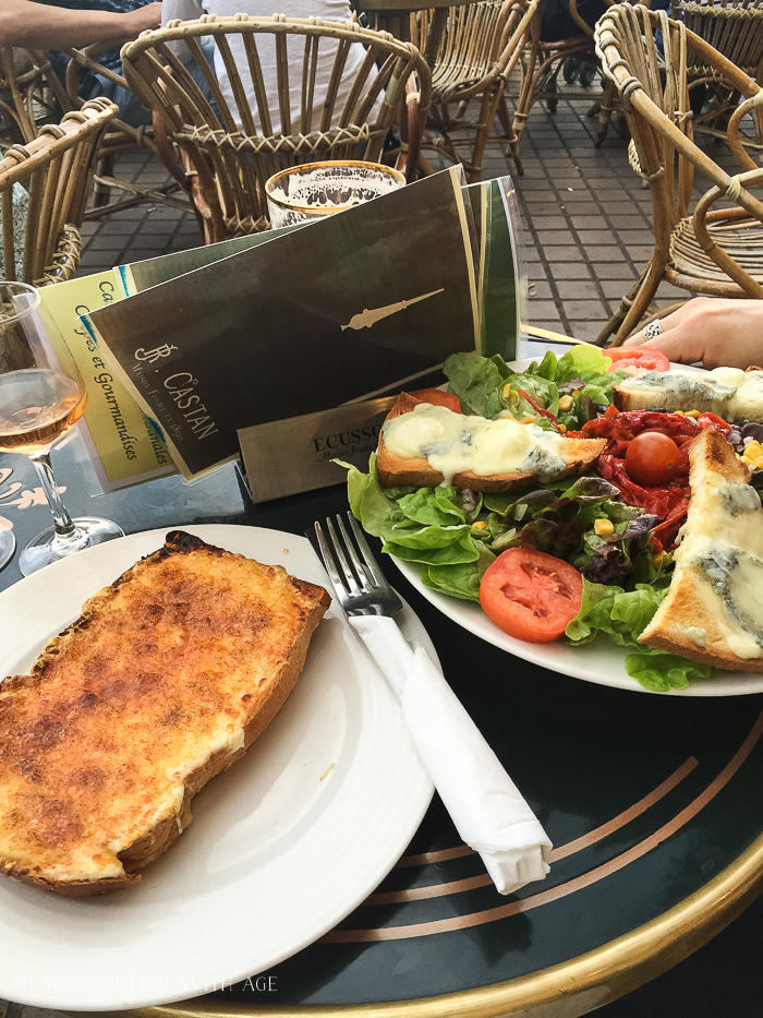 Why You Must Visit Bordeaux/eating in cafe in Bordeaux - So Much Better With Age