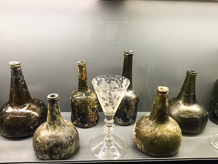 Why You Must Visit Bordeaux/antique wine jars - So Much Better With Age