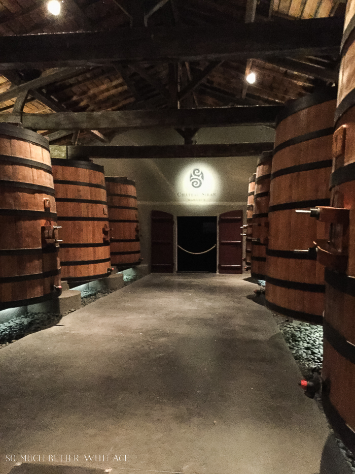 Why You Must Visit Bordeaux/massive barrels of wine - So Much Better With Age