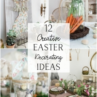 12 Creative Easter Decorating Ideas + Video
