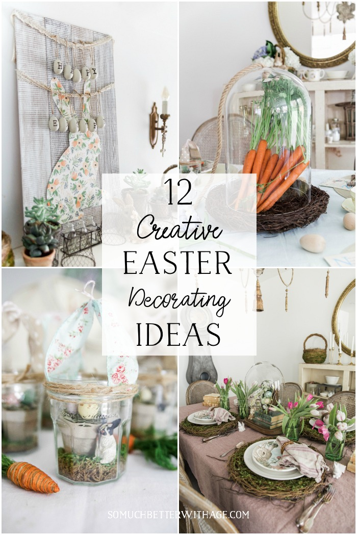 12 Creative Easter Decorating Ideas | So Much Better With Age