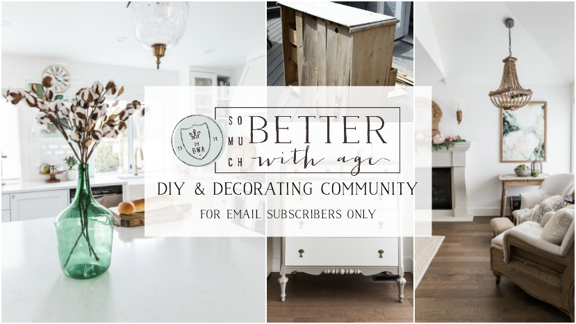 So Much Better With Age Diy Decorating Facebook Community So