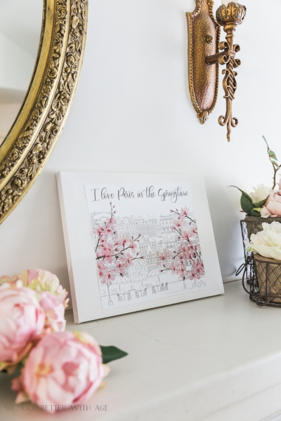 How to Make Canvas Art from Free Printables