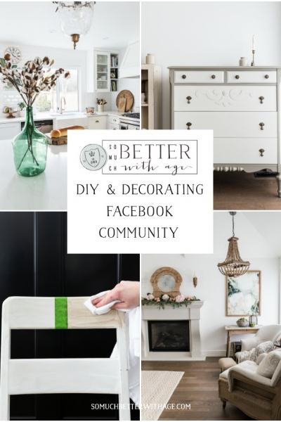 So Much Better With Age DIY & Decorating Facebook Community