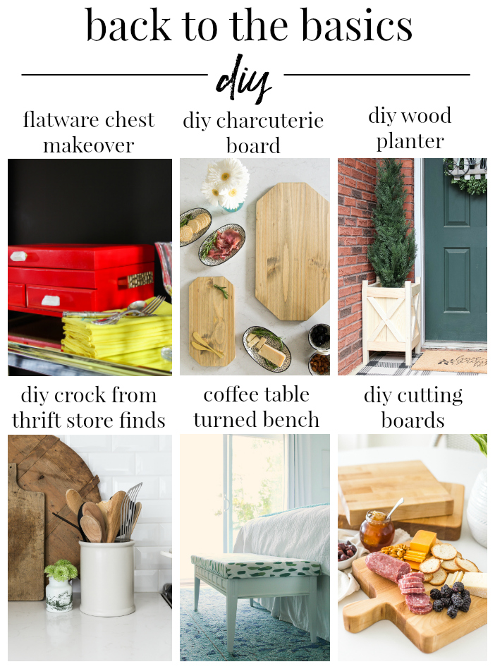 Back to the Basics DIY - So Much Better With Age