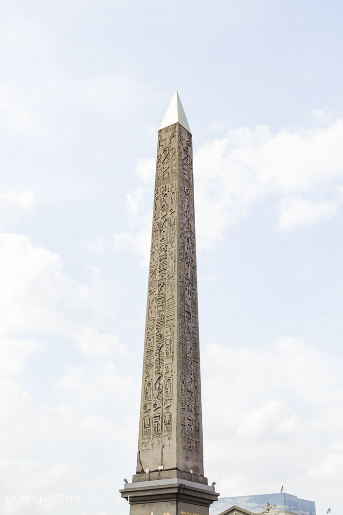 Top 10 Things to See & Do Your First Time in Paris/obelisk in Paris - So Much Better With Age