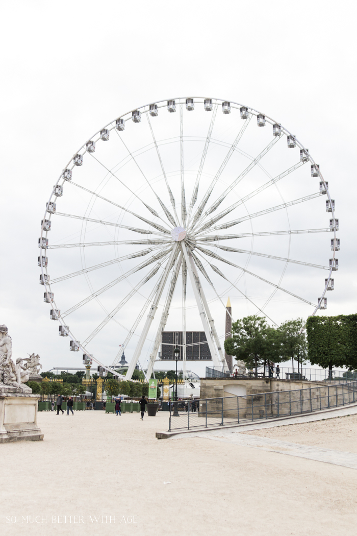 Top 10 Things to See & Do Your First Time in Paris/ferris wheel in Paris - So Much Better With Age