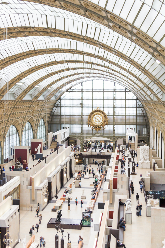 Top 10 Things to See & Do Your First Time in Paris/Musee d'Orsay - So Much Better With Age
