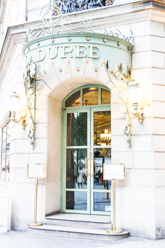 Top 10 Things to See & Do Your First Time in Paris/Laduree - So Much Better With Age