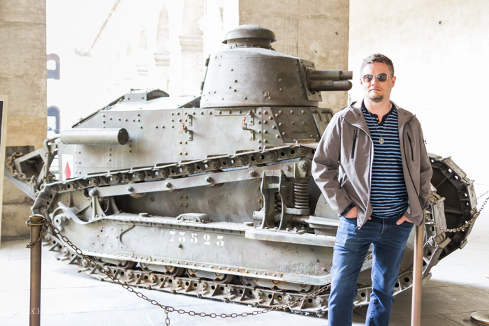 Top 10 Things to See & Do Your First Time in Paris/military tank in Paris - So Much Better With Age