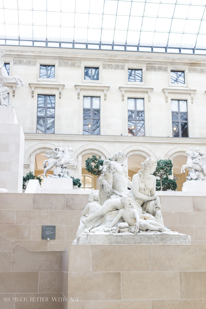 Top 10 Things to See & Do Your First Time in Paris/statues in Le Louvre - So Much Better With Age