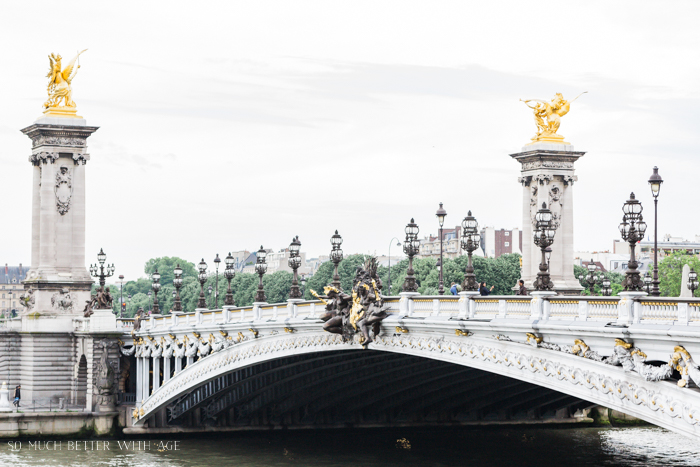 Top 10 Things to See & Do Your First Time in Paris/Pont de Alexandre III - So Much Better With Age