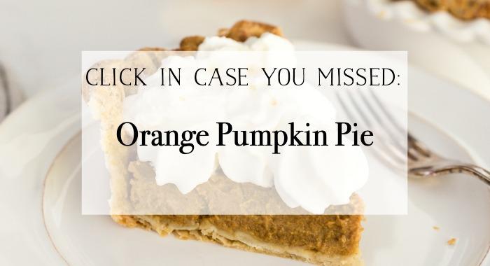 Orange Pumpkin Pie poster.