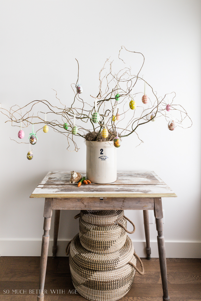 How to Make an Easter Egg Tree - So Much Better With Age