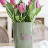 Mother's Day Painted Vase + Video