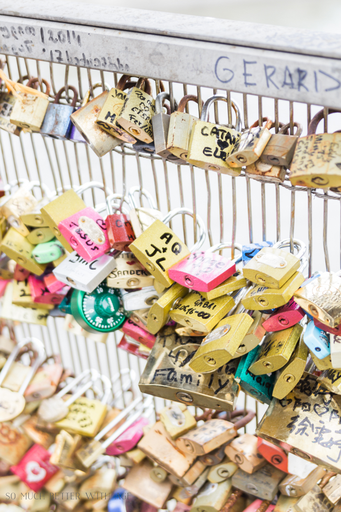 Paris Highlights Including Notre Dame/locks of love - So Much Better With Age