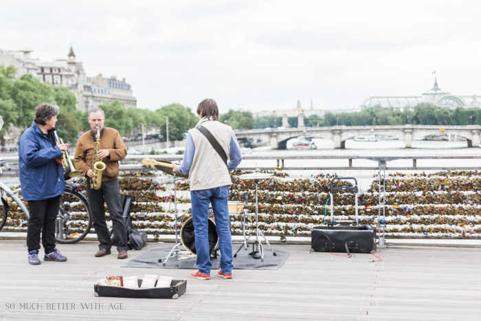 Paris Highlights Including Notre Dame/trio band in Paris - So Much Better With Age