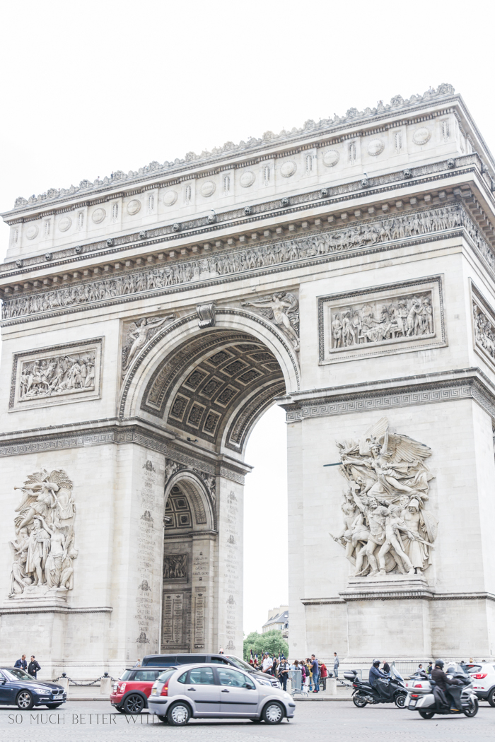 Paris Highlights Including Notre Dame/arc de triomphe - So Much Better With Age