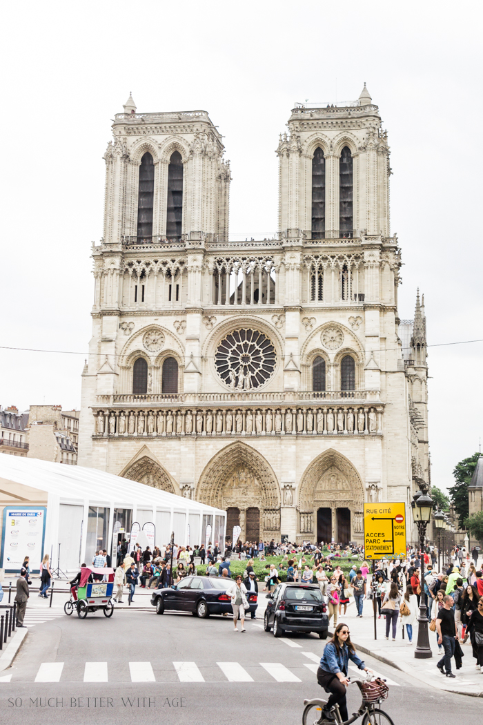 Paris Highlights Including Notre Dame/Notre Dame cathedral - So Much Better With Age