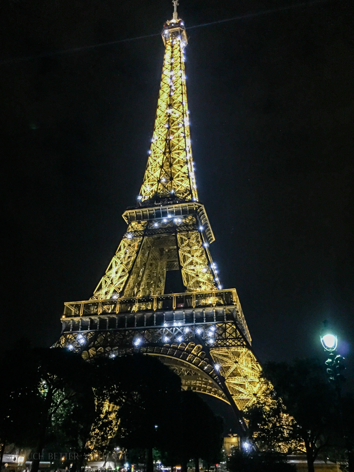 Top 10 Things to See & Do Your First Time in Paris/Eiffel tower at night - So Much Better With Age