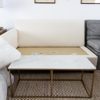 Honest Review of Pottery Barn Slipcovers in Premium Performance Basketweave