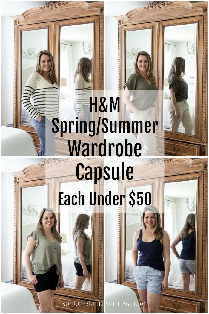 Spring/Summer Wardrobe Capsule from H&M under $50 - So Much Better With Age
