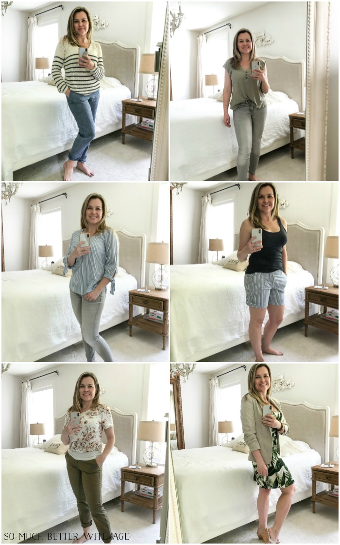 Spring/Summer Wardrobe Capsule from H&M and Being Comfortable in My Body - So Much Better With Age