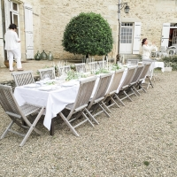 Dinner en Blanc in France + Two Sad Goodbyes