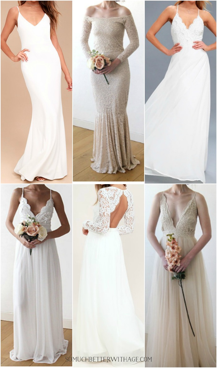 Simple And Romantic Wedding Dresses Online For Under 310