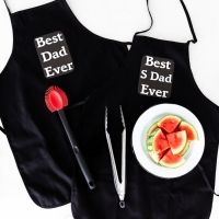 DIY Father's Day Apron (for Dads and Stepdads) + Free Printables