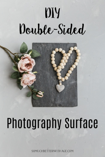 DIY Double-Sided Photography Surface - concrete
