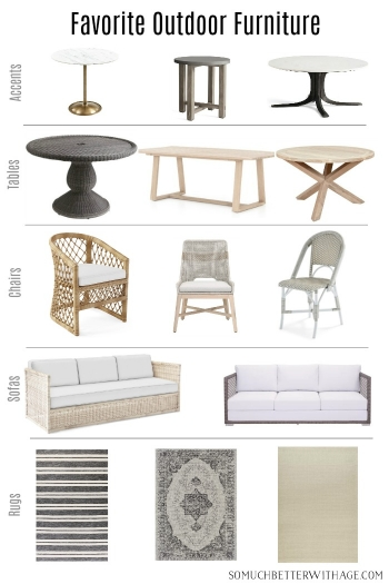 Favorite Outdoor Furniture