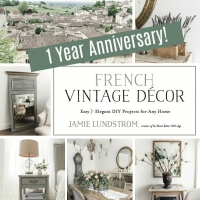 French Vintage Decor Book Anniversary + Giveaway