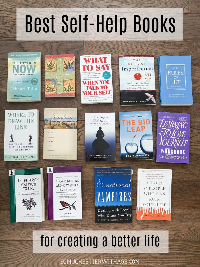 Best self-help books for creating a better life.