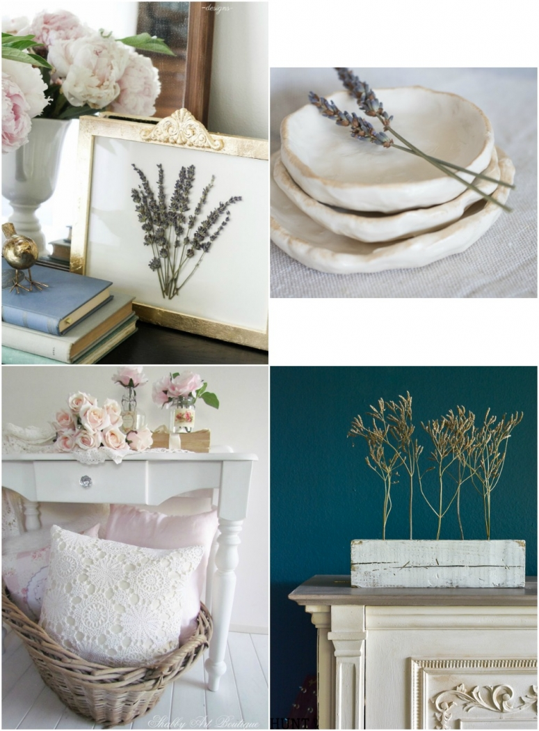 Blogger friends made projects from the book, French Vintage Decor.