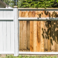 How to Prep and Re-Stain an Old Fence + Video