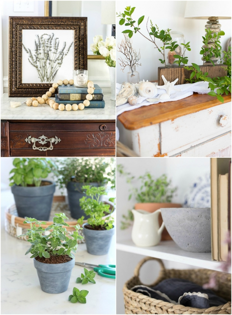 DIY projects blogger friends made inspired by the book, French Vintage Decor.